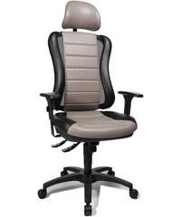 Bürodrehstuhl Point RS mit Kopfstütze TOPSTAR grau