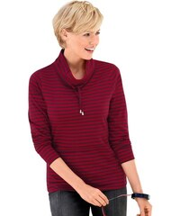 Damen Collection L. Shirt mit Tunnelzug und Stopper am Kragen COLLECTION L. rot 36,38,40,42,44,46,48,50,52,54