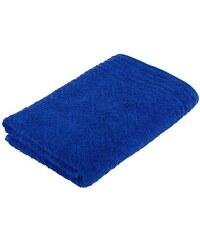 Badetuch Elegance mit Musterprägung Frottana blau 1xBadetuch 67x140 cm