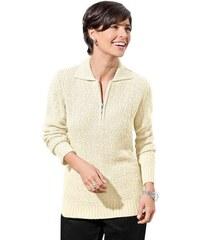 CLASSIC BASIC Damen Classic Basic Pullover weiß 38,42,44,46,48,50