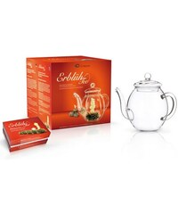 Creano Erblüh-Tee Geschenk-Set Weißer Tee CREANO transparent