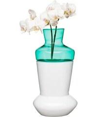 Dvojdílná váza SAGAFORM Duo, bílá/tyrkysová Sagaform NA-1090957