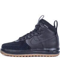 Sneakers - tenisky Nike Lunar Force 1 Duckboot Black / Black - Metallic Silver - Anthracite