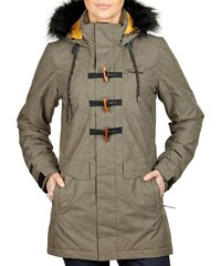 Dámská zimní bunda Funstorm Bretta khaki M