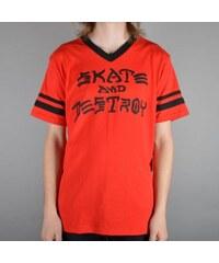 Pánské tričko Thrasher Skate & Destroy Ringer