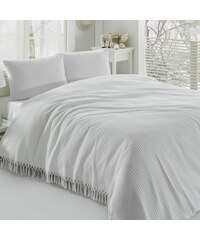 Unknown Přehoz přes postel Pique White, 220x240 cm