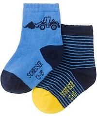 Schiesser Baby - Mädchen Socken 149060, 2er Pack