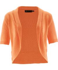 bpc selection Strickbolero kurzer Arm in orange für Damen von bonprix