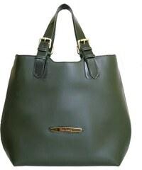 Kožená kabelka Pierre Cardin MD3 4035 zelená