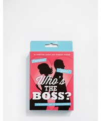 50Fifty - Who's the Boss - Quiz-Spiel - Mehrfarbig