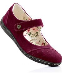 bpc selection Ballerines en cuir violet chaussures & accessoires - bonprix