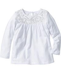 bpc bonprix collection T-shirt manches longues, T. 80/86-128/134 blanc enfant - bonprix