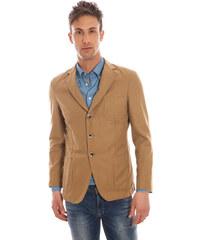 Pánský blazer Gant 51451 - Hnědá / 48
