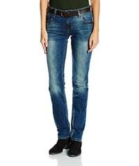 s.Oliver Damen Straight Leg Jeanshose 5-Pocket