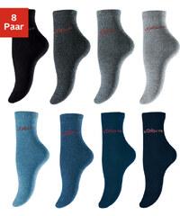 S,OLIVER Ponožky, s.Oliver (8 ks) 4x šedé tóny + 4x modré tóny