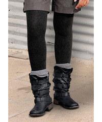LAVANA Punčochové kalhoty Lavana 2 ks 1x černá + 1x hnědá