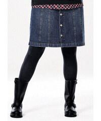LAVANA Punčochové kalhoty Lavana 2 ks černá/modrá