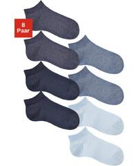 GO IN Nízké ponožky Go in (8 párů) 2x nám.modrá+2x tmavě modrý me