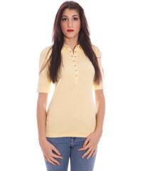 Dámské polo tričko Gant 49610 - L / Žlutá