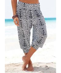 VENICE BEACH Harémové kalhoty, Venice Beach leopardí potisk