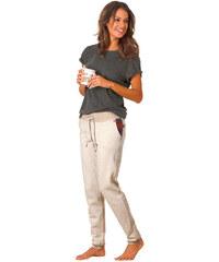 H,I,S Úzké wellness kalhoty, H.I.S béžová