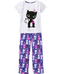 bpc bonprix collection Pyjama (Ens. 2 pces.), T. 92/98-176/182 blanc lingerie - bonprix