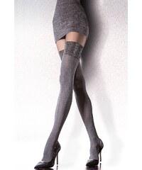 Punčochové kalhoty Fiore Caladia 40 den, šedá