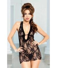 SOFTLINE COLLECTION Erotická košilka Carmen black
