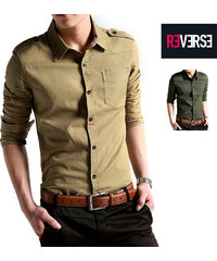 Re-Verse Chemise style militaire