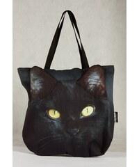 Taška DekumDekum 3D Černá kočka (030)