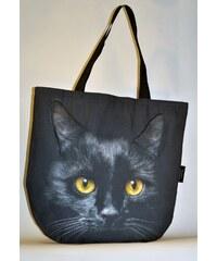 Taška DekumDekum 3D Černá kočka 002 (093)