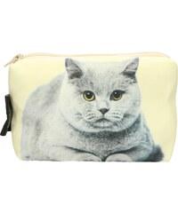 DekumDekum Kosmetická taška Britská kočka (KSM022)
