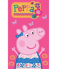 Peppa Pig Dětský ručník Prasátko Pepina Pink - 30x50 cm