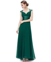 Ever Pretty plesové šaty s flitry zelené 9672 GR 828cf86331