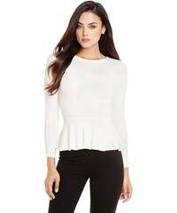 Guess by Marciano Svetr Virginia Peplum Sweater