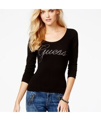 Guess Svetr Embellished Cross-Back Sweater
