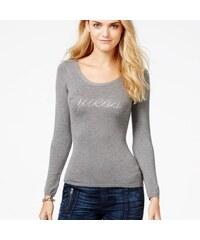 Guess Svetr Embellished Cross-Back Sweater