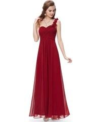 Ever Pretty Plesové šaty společenské bordo 9768 RD 038c5fc6b0