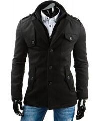 Pánský kabát Aut - černá