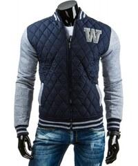 """Pánská bunda """"W"""" - dark modrá"""