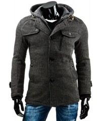Pánský kabát Axel - dark šedá