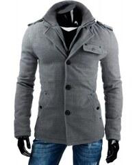 Pánský kabát Cory - šedá