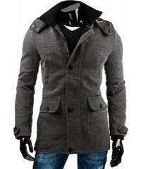 Pánský kabát Lucas - šedá