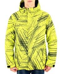 Pánská zimní bunda Funstorm Forter yellow logos M