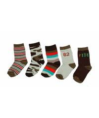 Bugga Chlapecký set ponožek, 5 párů