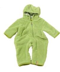Bugga Chlapecký propínací overal s kapucí - zelená