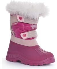 Trespass Dívčí sněhule Frost - růžové
