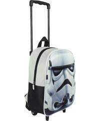 Disney Brand Chlapecký batoh na kolečkách Star Wars - bílý