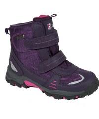 Bugga Dívčí kotníkové boty s membránou - tmavě fialové
