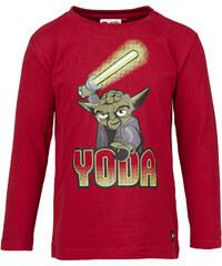 LEGO wear Chlapecké tričko Yoda Timmy 654 - tmavě červené